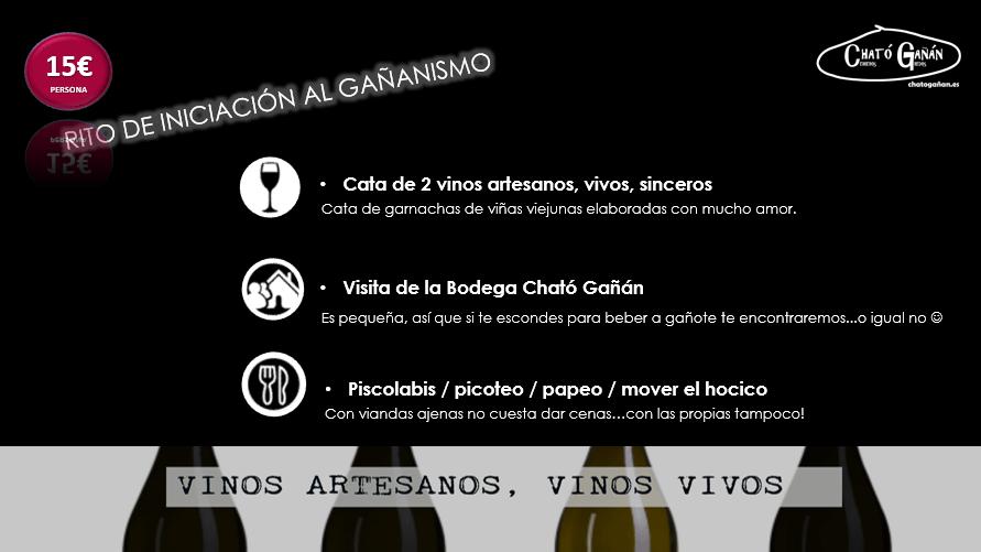 Opción 1 - Enoturismo en Cható Gañán