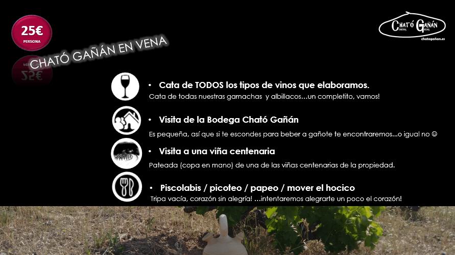 Opción 4 -Enoturismo en Cható Gañán