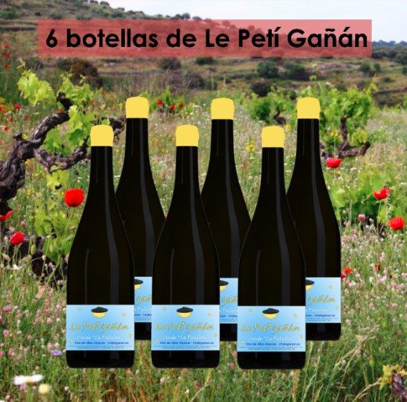 Caja de vinos artesanos Le Petí Gañán